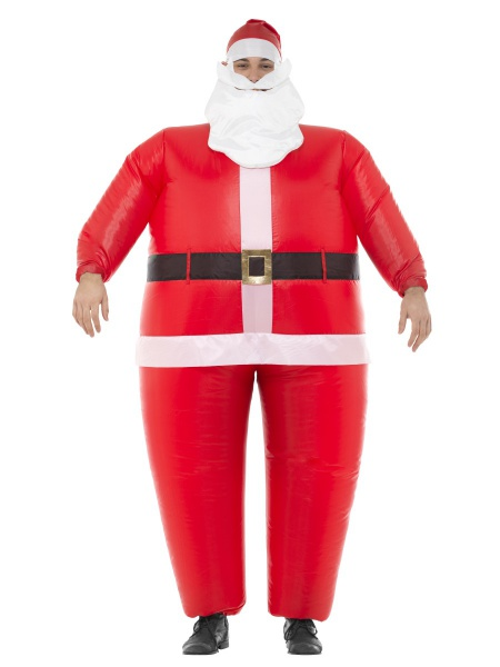 470dd701d Nafukovací kostým Santa Clause unisex. Zaručeně pobaví na jakémkoliv  večírku či vánoční party